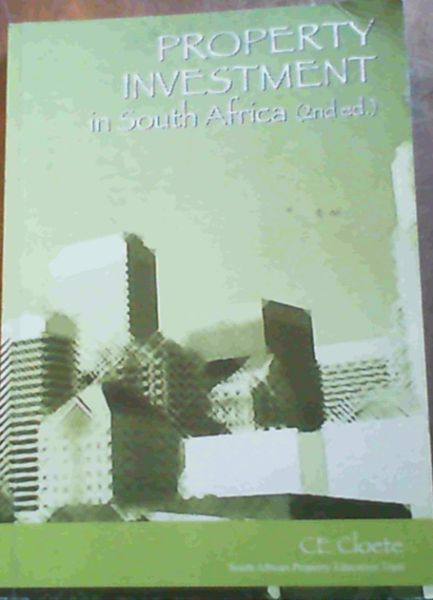 Image for Property Investment in South Africa [2nd ed.]