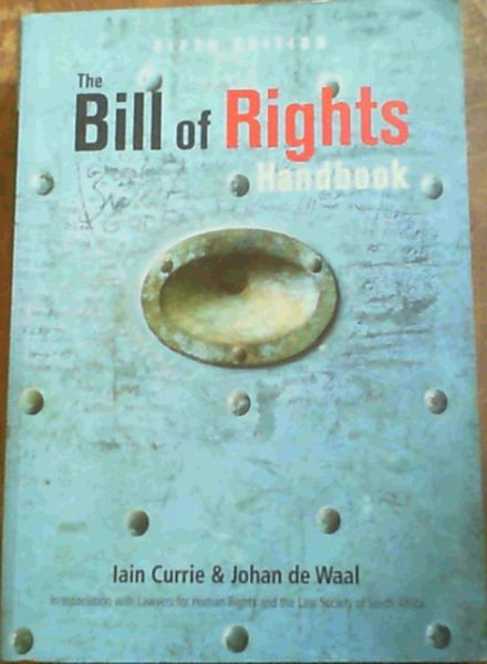 Image for The Bill of Rights Handbook