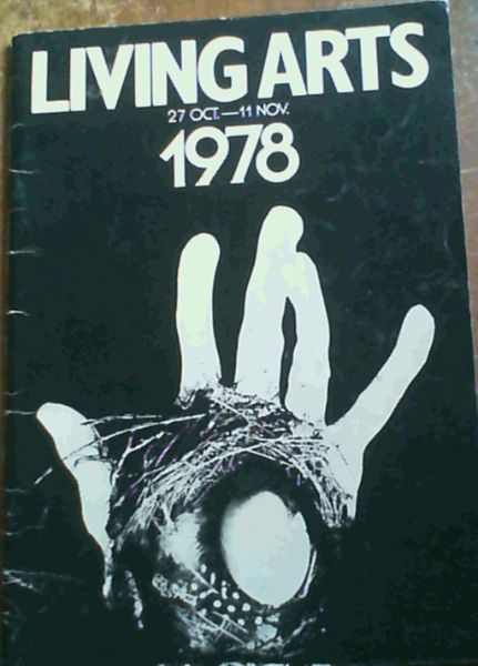 Image for Living Arts 27 Oct. - 11 Nov. 1978