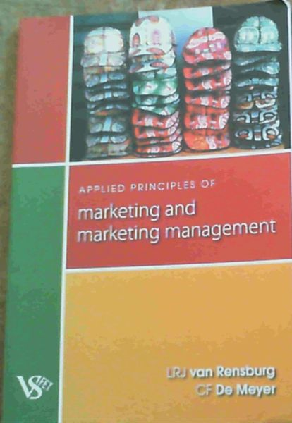 Image for Applied Principles of Marketing and Marketing Management