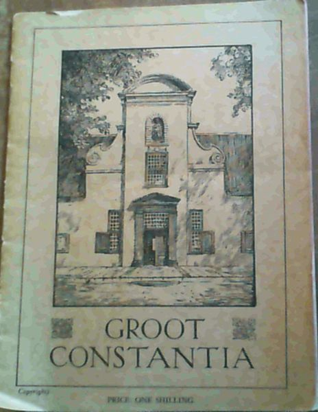 Image for Groot Constantia