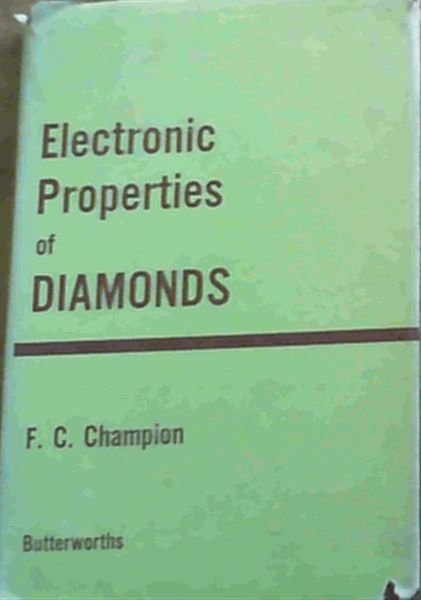 Image for Electronic Properties of Diamonds