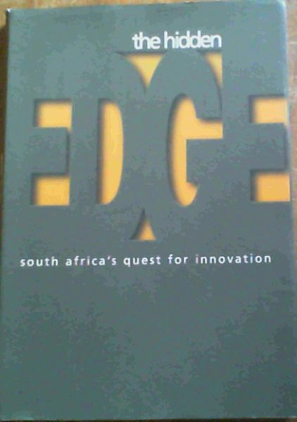 Image for The Hidden Edge: South Africa's Quest for Innovation