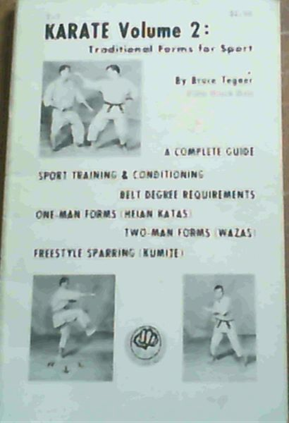 Image for Karate Volume 2; Traditional Forms for Sport