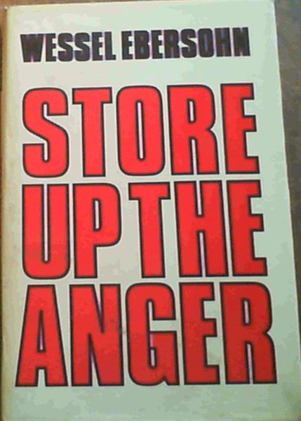 Image for Store Up the Anger