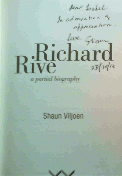 Image for Richard Rive: A Partial Biography