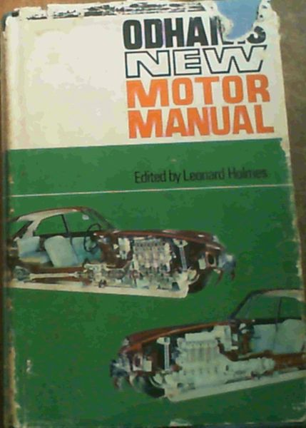 Image for Odhams New Motor Manual