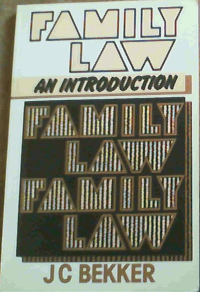 Image for Family Law - an Introduction