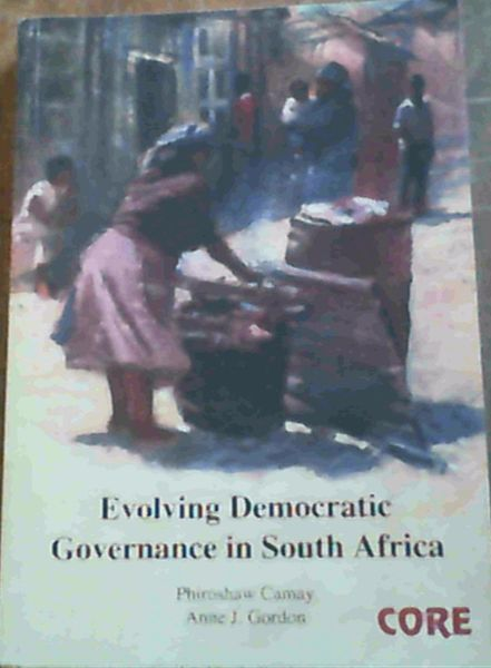 Image for Evolving Democratic Governance in South Africa