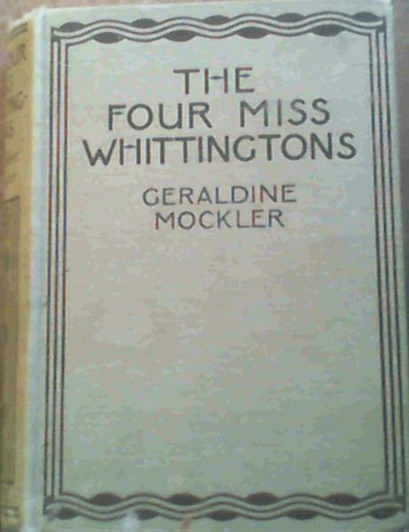 Image for The Four Miss Whittingtons