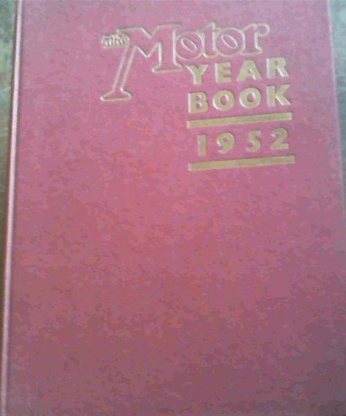 Image for The Motor Year Book 1952