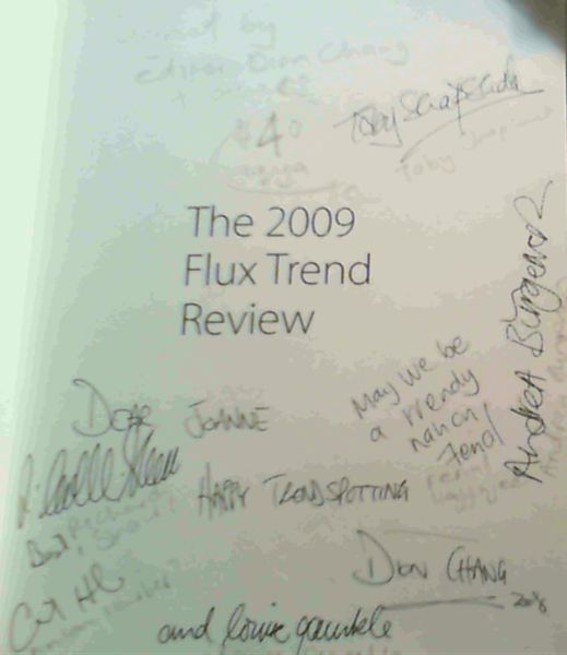 Image for The 2009 Flux Trend Review