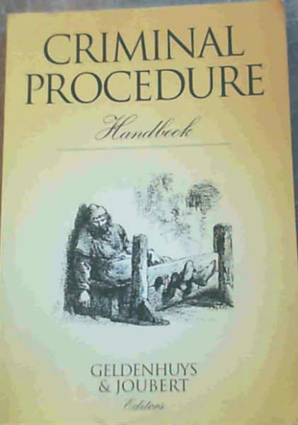 Image for Criminal Procedure Handbook
