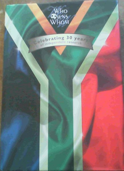 Image for Who Owns Whom : Celebrating 30 Years of Independent Research