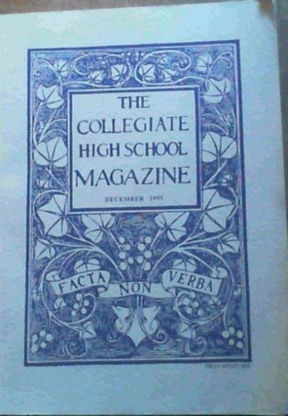 Image for The Collegiate High School Magazine - December 1995