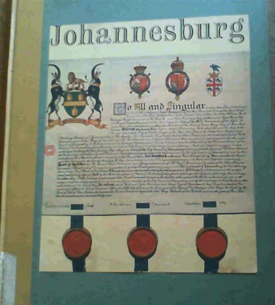 Image for Pictorial History of Johannesburg - City of Johannesburg Africana Museum Frank Connock Publication No. 3