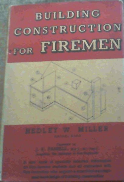 Image for Building Construction For Firemen