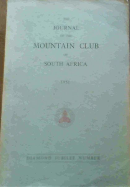 Image for The Journal of the Mountain Club of South Africa Number 54 for the Year 1951