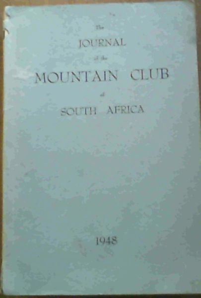 Image for The Journal of the Mountain Club of South Africa Number 51 for the Year 1948