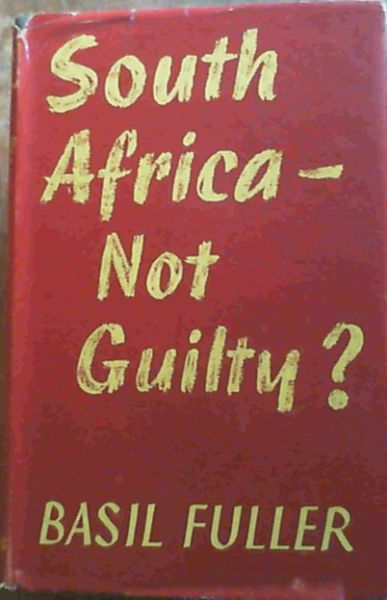 Image for South Africa - Not Guilty?