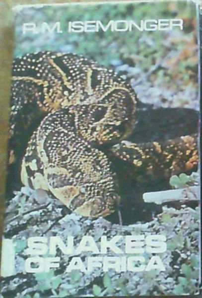 Image for Snakes of Africa