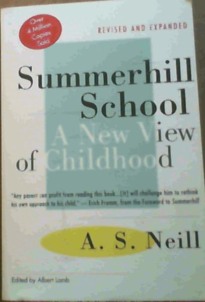 Image for Summerhill School : A New View of Childhood