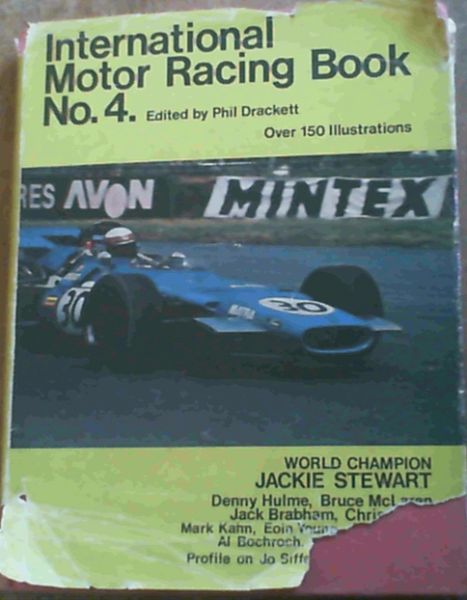 Image for International motor racing book 4 Only