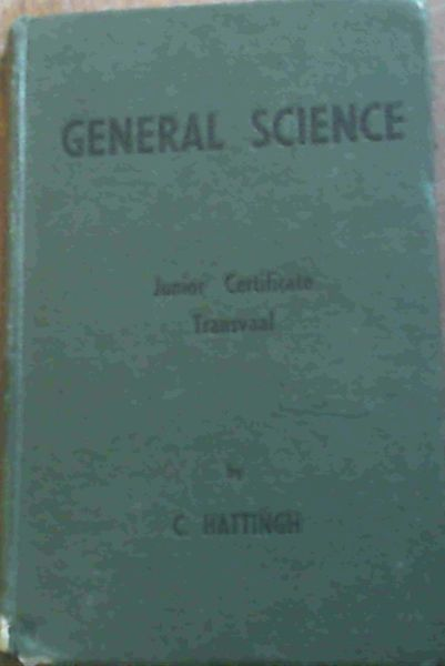 Image for General Science; Junior Certificate Transvaal
