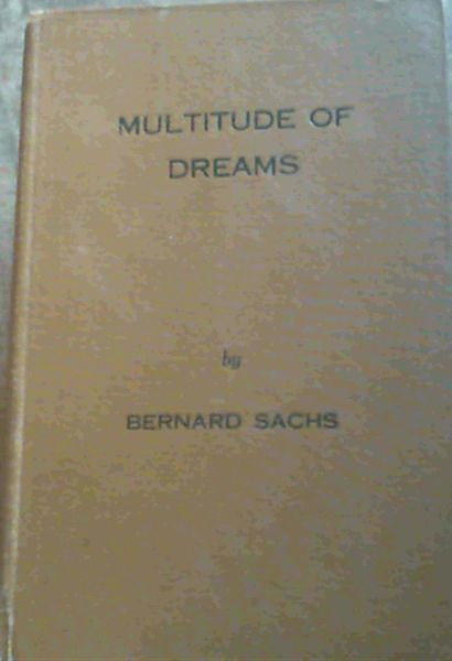 Image for Multitude Of Dreams