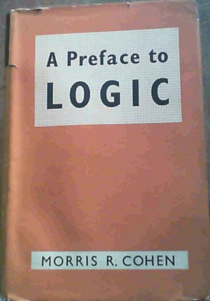 Image for A Preface to Logic