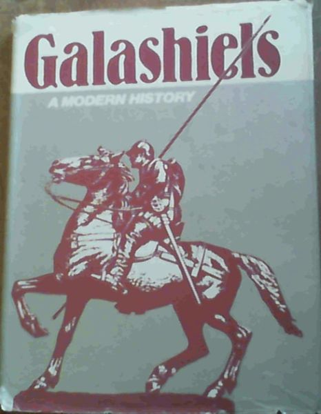 Image for Galashiels A Modern History
