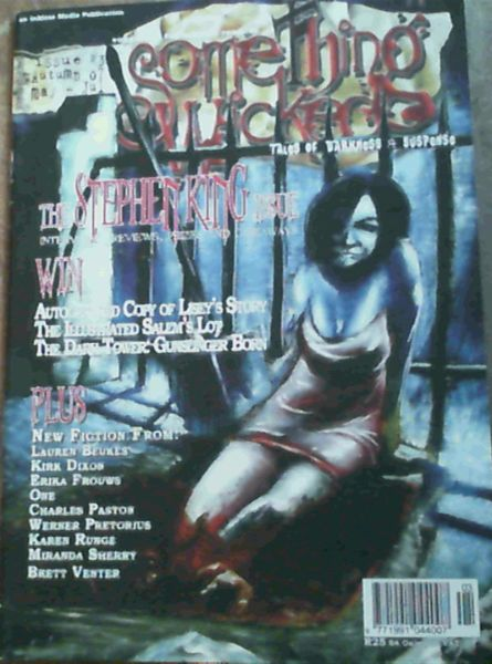 Image for Something Wicked : Tales of Darkness & Suspense : Issue No. 3, May - Jul '07