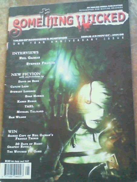 Image for Something Wicked Issue 5 Nov 07-Jan 08