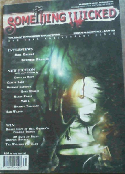 Image for Something Wicked : Tales of Darkness & Suspense : Issue No. 5, Nov 07 - Jan '08