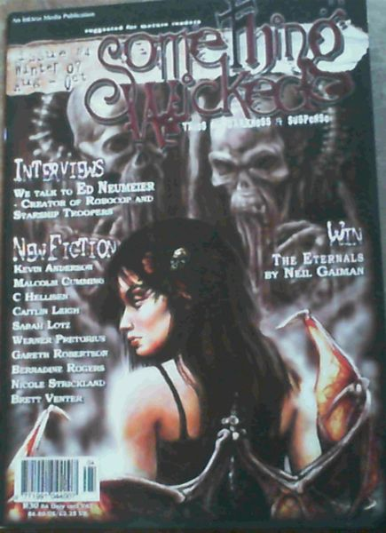 Image for Something Wicked : Tales of Darkness & Suspense : Issue No. 4, Aug - Oct '07