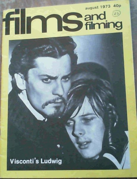 Image for Films and Filming : Volume 19, No. 11, August 1973