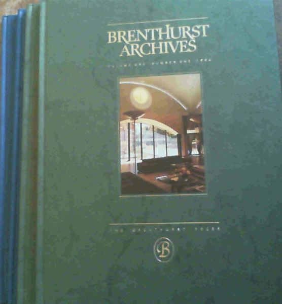 Image for Brenthurst Archives - Footnotes to History from the Brenthurst Library, Johannesburg the Private Africana Collection of Mr H. F. Oppenheimer - Four Volumes