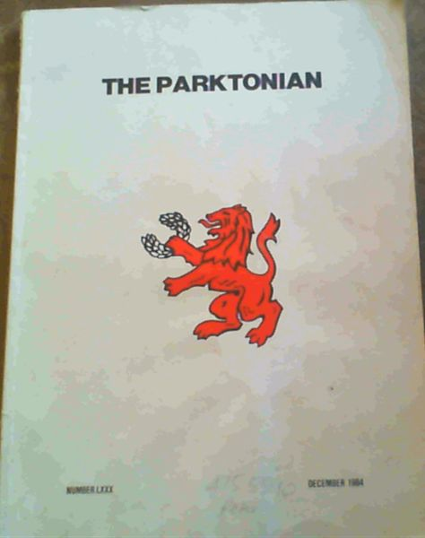 Image for The Parktonian : Number 80, December 1984