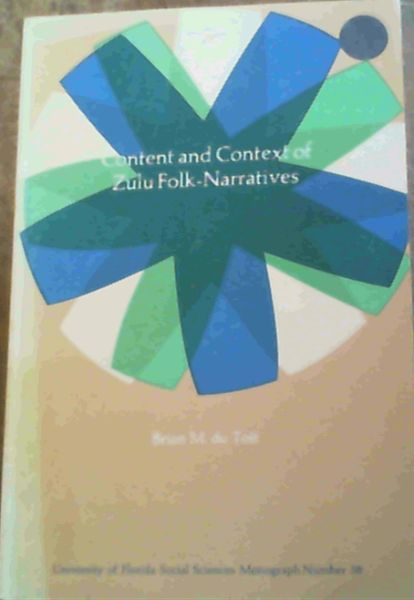 Image for Content & Context of Zulu Folk-Narratives