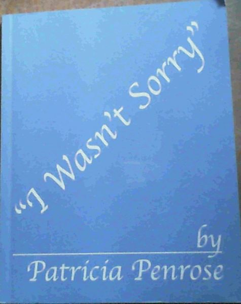 Image for I Wasn't Sorry