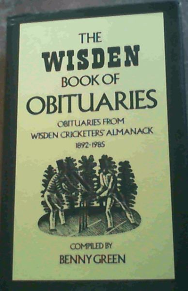 Image for Wisden Book of Obituaries