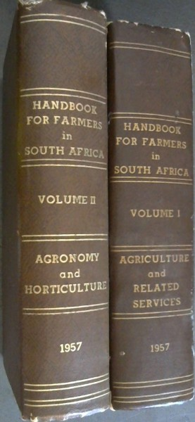 Image for Handbook for Farmers in South Africa - 2 volumes