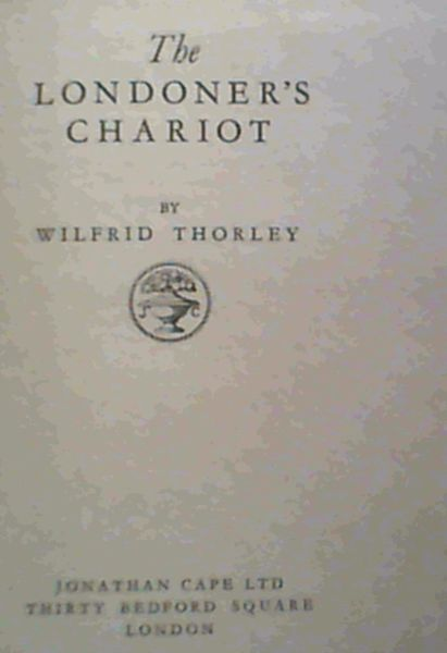 Image for The Londoner's Chariot