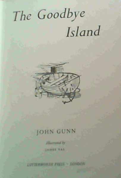 Image for The Goodbye Island