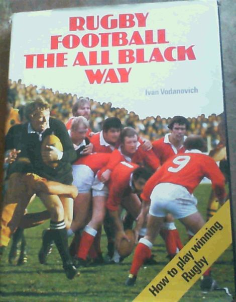 Image for Rugby football the All Black way