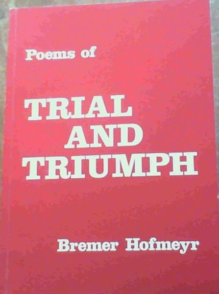 Image for Poems of Trial & Triumph