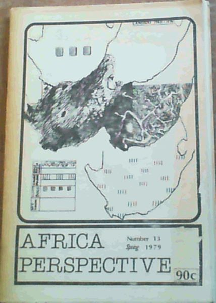 Image for Africa Perspective - Number 13 Spring 1979