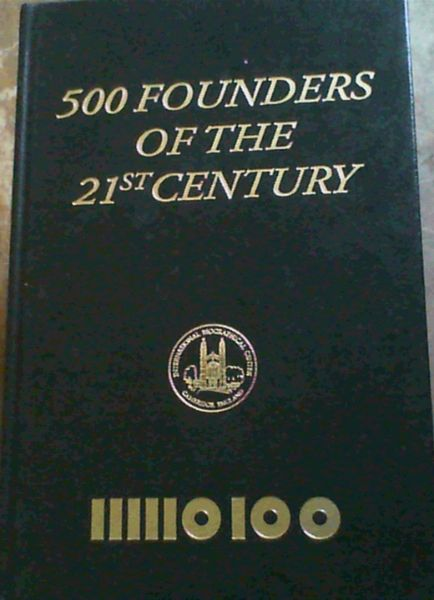 Image for 500 Founders of the 21st Century