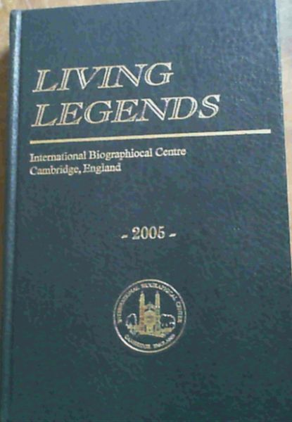 Image for Living Legends 2005