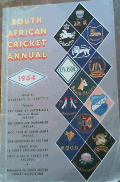 Image for South African Cricket Annual 1964